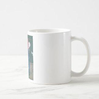 The clown fallen in love mugs