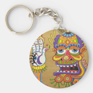 The Clown is a Wiseman in Disguise  Keychain