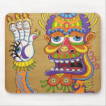 The Clown is a Wiseman in Disguise  mousepads