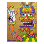 The Clown is a Wiseman in Disguise  Postcard