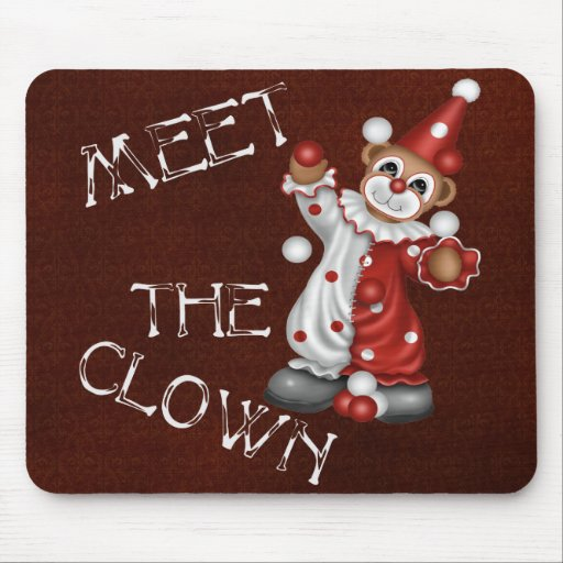 The Clown Mouse Pad