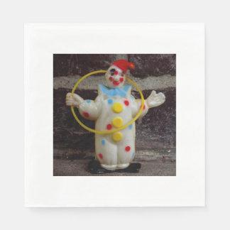 The Clown Paper Napkin