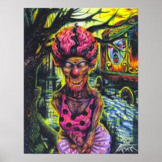 The clown - print
