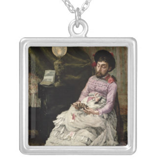 The Clown Silver Plated Necklace