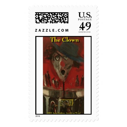 the clown stamp