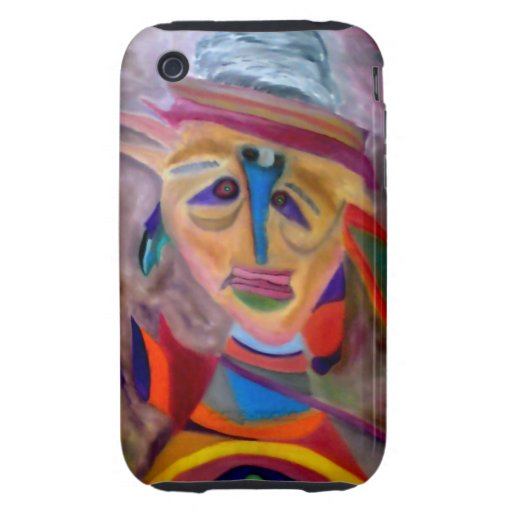 The clown tough iPhone 3 cover