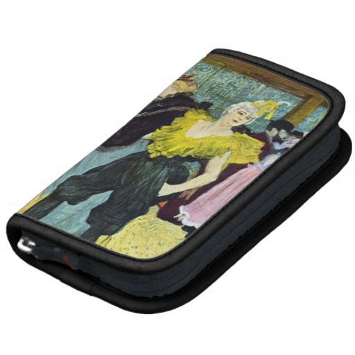 The clowness by Toulouse-Lautrec Folio Planners