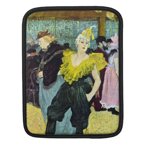 The clowness by Toulouse-Lautrec Sleeve For iPads