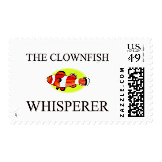The Clownfish Whisperer Postage Stamp