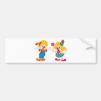 the clowns bumper sticker