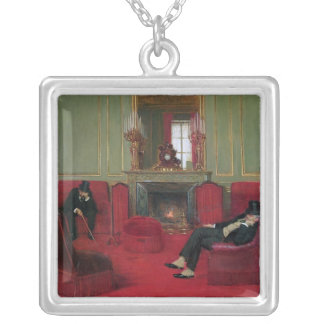 The Club, 1911 Square Pendant Necklace