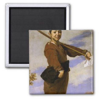The Club Foot, 1642 2 Inch Square Magnet