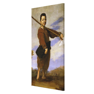 The Club Foot, 1642 Canvas Print