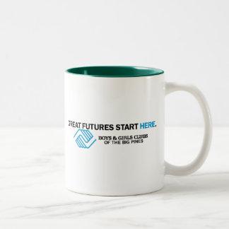 The ClubWEAR Two-Tone Coffee Mug