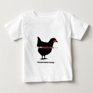 The Cluck Dynasty: Backyard Chicken Farming Baby T-Shirt