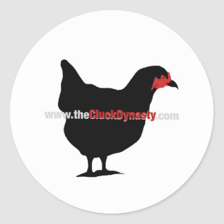 The Cluck Dynasty Sticker