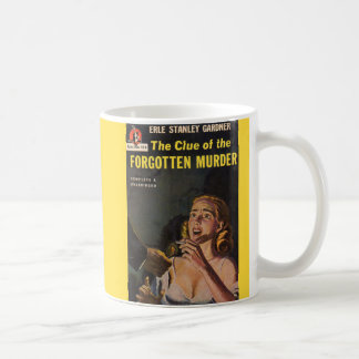 The Clue of the Forgotten Murder Coffee Mug