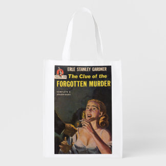 The Clue of the Forgotten Murder Market Tote