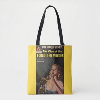 The Clue of the Forgotten Murder Tote Bag