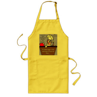 """""""The Clueless Cook Apron"""" Long Apron"""