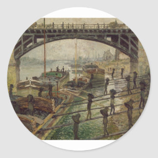 The Coal-Dockers (1875) Stickers