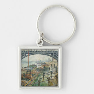 The Coal Workers, 1875 Keychain