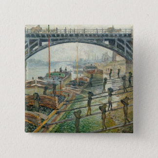 The Coal Workers, 1875 Pinback Button