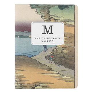 The coast at Hota in Awa province Extra Large Moleskine Notebook