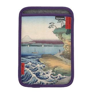 The coast at Hota in Awa province iPad Mini Sleeve