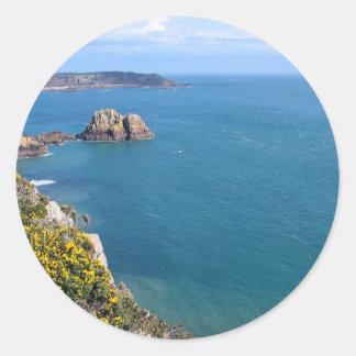 The Coast Classic Round Sticker