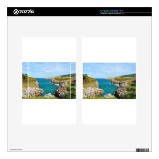 The coast in Asturias Kindle Fire Skin