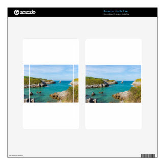 The coast in Asturias Skin For Kindle Fire
