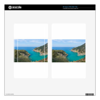 The coast in Cantabria Decal For Kindle Fire