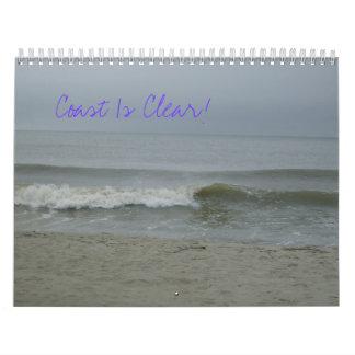 The Coast Is Clear Calender Calendar