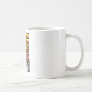 The coast is clear coffee mug
