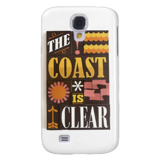 The coast is clear samsung galaxy s4 cover