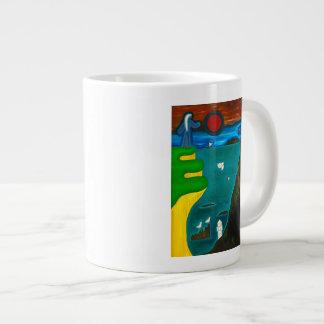The Coast of England 2010 Giant Coffee Mug