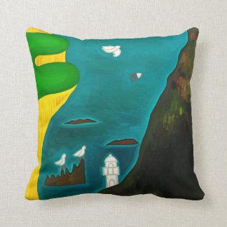 The Coast of England 2010 Pillow