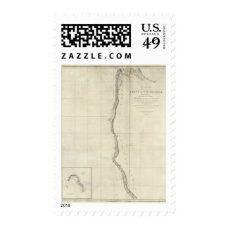 The Coast of North West America Postage Stamps
