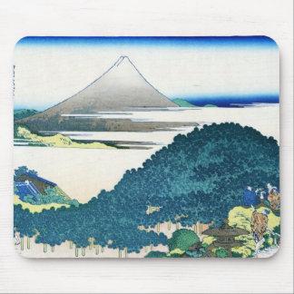 The coast of seven leages in Kamakura Hokusai Mouse Pad
