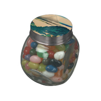 The coast of seven leagues in Kamakura Jelly Belly Candy Jars