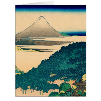 The coast of seven leagues in Kamakura Large Greeting Card