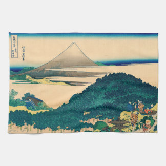 The coast of seven leagues in Kamakura Kitchen Towels