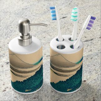 The coast of seven leagues in Kamakura Toothbrush Holders