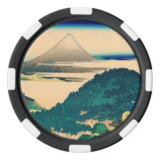 The coast of seven leagues in Kamakura Poker Chips