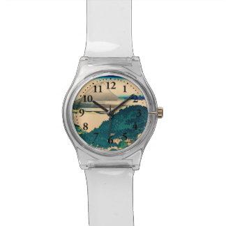 The coast of seven leagues in Kamakura Wristwatch