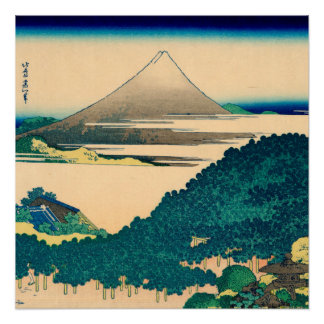 The coast of seven leagues in Kamakura Perfect Poster