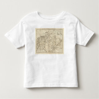 The coast of Tierra Firma from Cartagena Toddler T-shirt