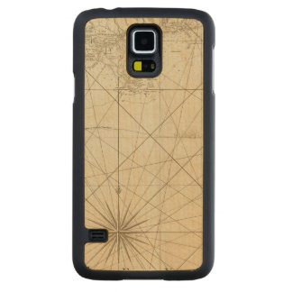 The Coast of West Florida and Louisiana Carved Maple Galaxy S5 Slim Case