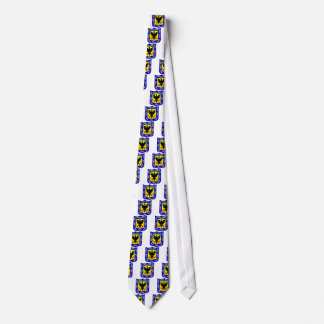 The coat of arms of Bogota, Colombia. Neck Tie